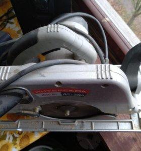Пила дисковая Интерскол ДП 2000