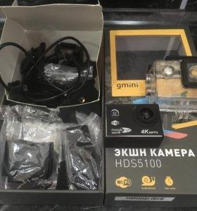 Экшн камера HD S5 100 4K 30fps + флешка 4г