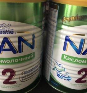 НАН 2 кисломолочный смесь