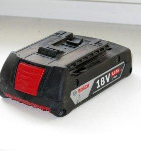аккумулятор BOSCH GBA 18V 2.0Ah