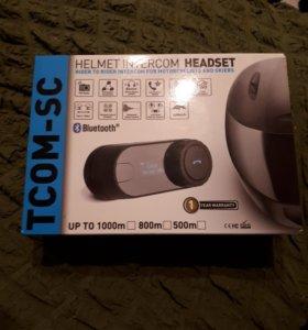 Bluetooth гарнитура для шлема T-com