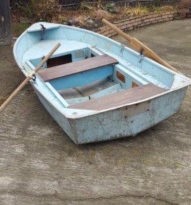 Дюралевая лодка Ерш в хорошем состоянии