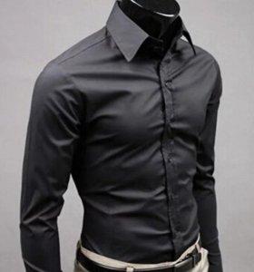 Одежда большего размераФирменная мужская рубашка