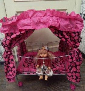 Кровать для кукол