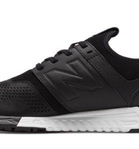 New balance leather black
