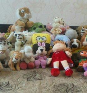 Продам лицензионные мягкие игрушки