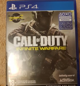 Игра на пс 4 Call of Duty®: Infinite Warfare