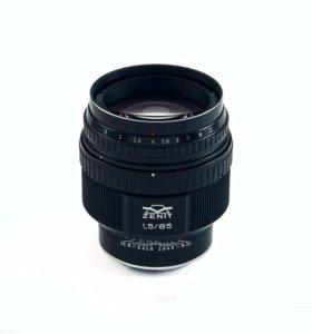 Зенит мс Гелиос 40-2Н Nikon 85 mm F/1.5