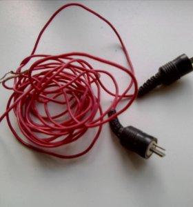 Продаю советские провода от аудио аппаратуры