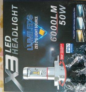 Автомобильные лампы светодиодные новые