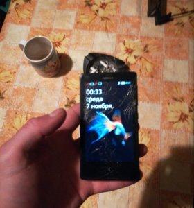 Нокия x dual андроид 4.1 2ядерный процессор..4 гб