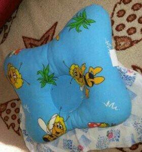 Ортопедическая подушка +наволочка в подарок.