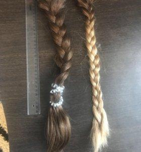 Натуральный волос тресс