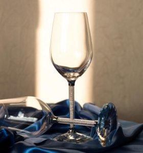 Бокалы для вина Swarovski