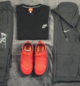 Костюм тройка Nike gray/black