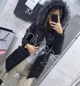 Зимняя куртка,полиэстер,размер L немного маломер