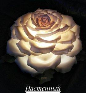 Настенный светильник роза