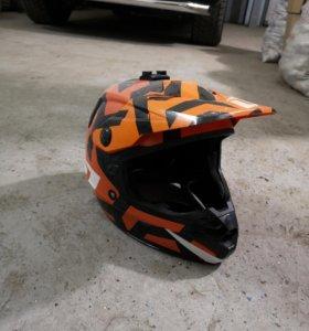 Шлем для мотокросс/ дх