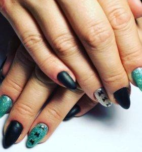 Коррекция ногтей и покрытие гель лаком
