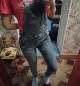 комбинезон джинсовый новый!🌿