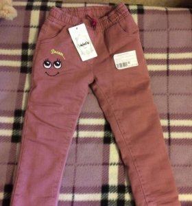 Новые теплые штаны