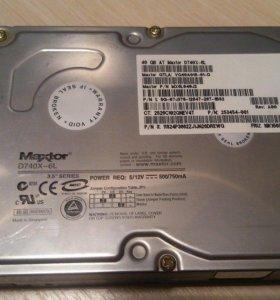 Жесткий диск Maxtor 40 Гб