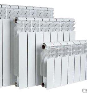Радиатор алюминиевый Samrise 500/80 1секция