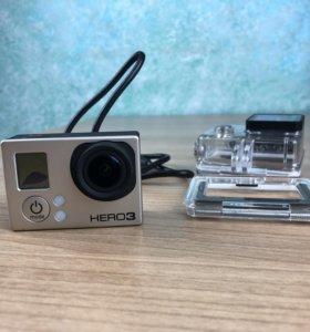 Экшен-камера GoPro Hero 3 Silver Edition