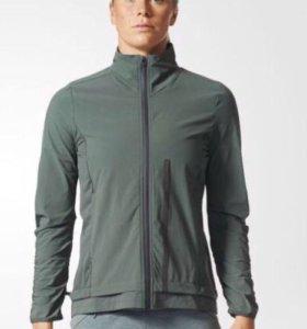 adidas спортивная куртка ветровка для бега