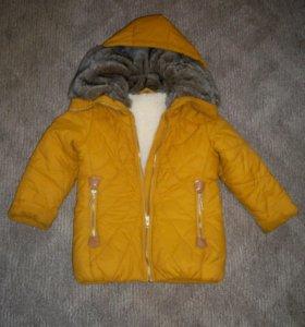Куртка зимняя р.104 на меху