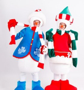 Артисты разного жанра, Дед Мороз, Снегурочка