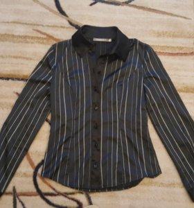 Блузка женская, р.44, черная
