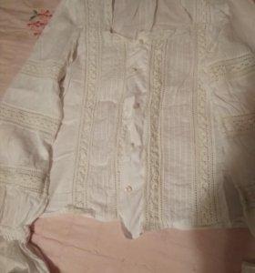 Блуза вечерняя