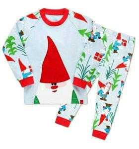 Новая зимняя пижама для мальчика