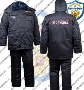 Бушлат зимний полиция ГОСТ