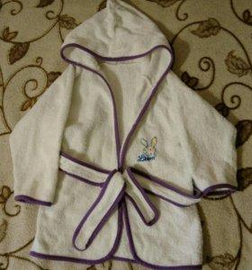 Махровый халат, 100% хлопок