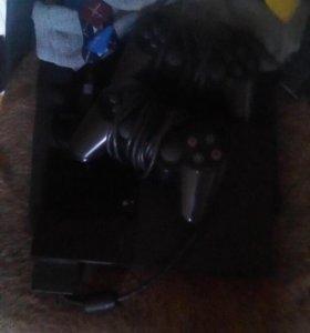 Продам PS2 в отличном состоянии +30 дисков.