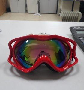 Шлем и очки