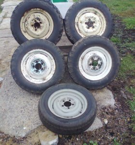грязевые колёса 15 рад на луаз