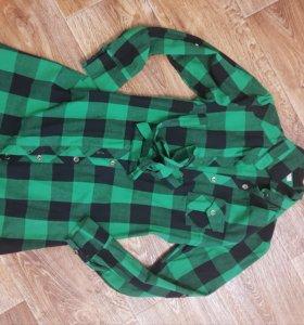 Платье рубашка