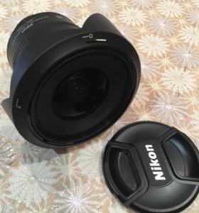 Фотообъектив AF-S DX Nikkor 10-24 mm f 3,5-4,5 GED