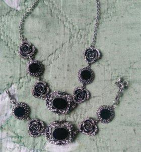 Ожерелье+ браслет