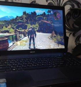 Игровой ноутбук dexp atlas h115