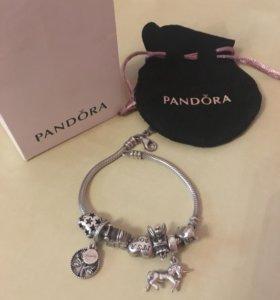 Шармы Pandora оригинал серебро 925