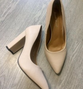 Туфли новые пудрового цвета