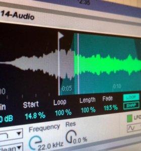 Обучу написанию музыки в программе Ableton