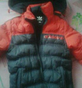 Куртка зимняя на мальчика