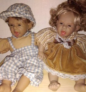 Куклы характерные. Парочка.PANTE