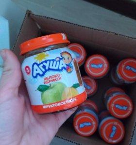 Детское фруктовые пюре