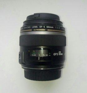 Объектив Canon EF-S 60mm 1:2.8 Macro USM